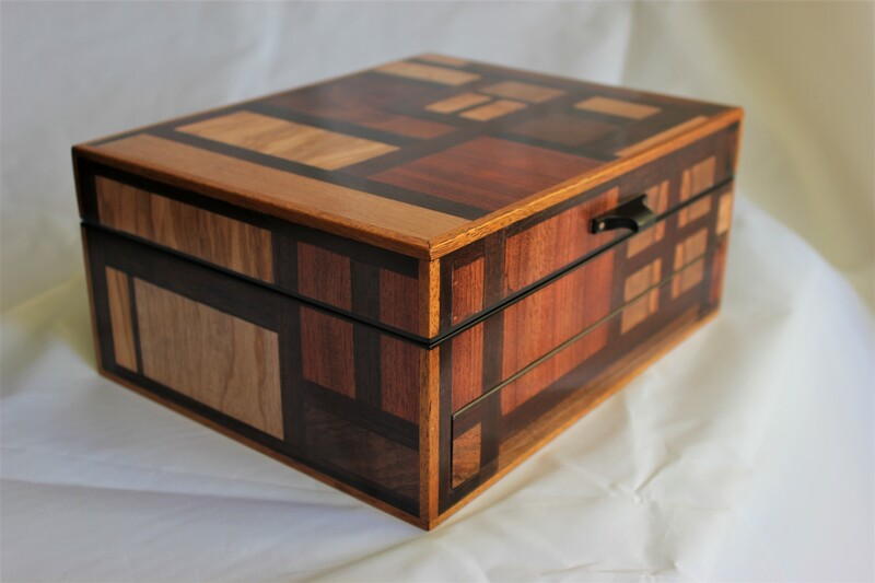 Special wooden Jewellery box by Reuben's woodcraft